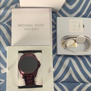 Michael Kors Plum Access Smart Watch